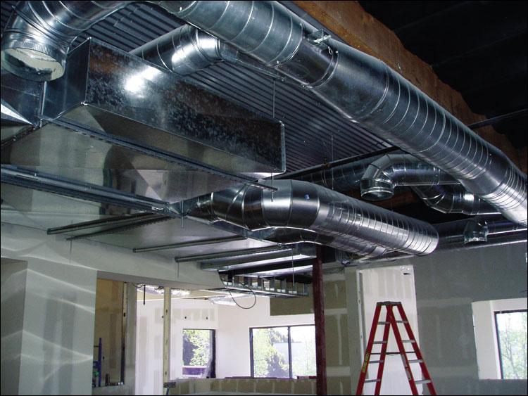 Air Conditioning Ducts Support Details : Hvac fabrication ism lockformer spirol tubeformers