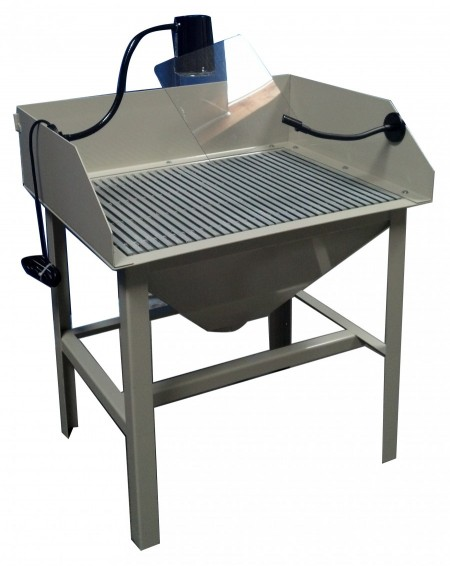 At Industrial Dust Collectors Down Draft Tables At